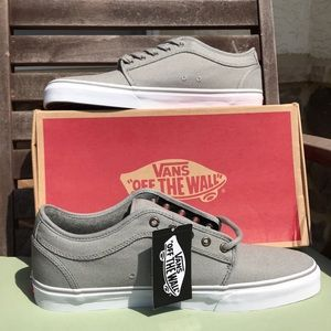 BRAND NEW Vans grey Chukka Low
